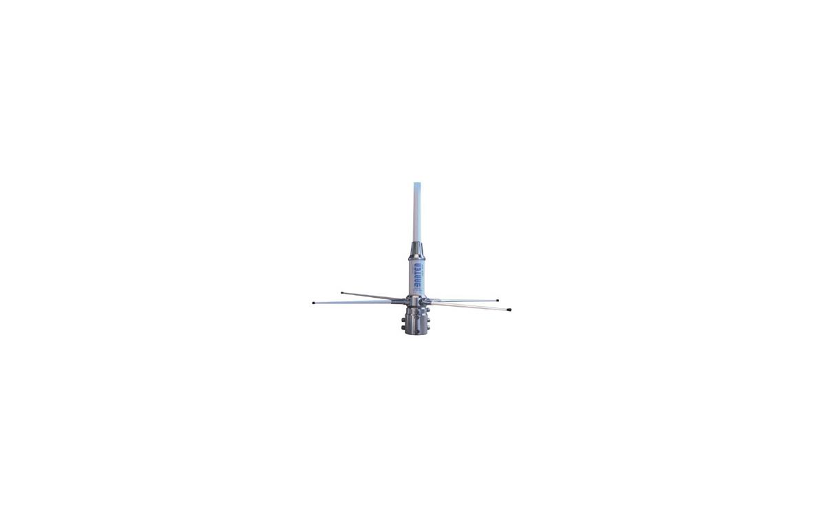 GP VHF BANTEN, Antena 5/8 de base para frecuencia marina 156 - 160 Mhz. Longitud antena 1,5 metros